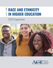 ACH | Race and Ethnicity in Higher Education: 2020 Supplement