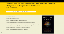 Book Discussion Guide | Equity in Science