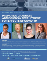 Preparing Graduate Admissions and Recruitment Process for Effects of COVID-19